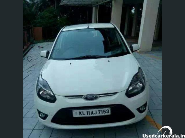 Ford Figo - white