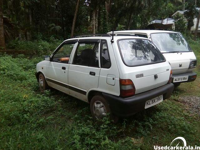 2003 model maruthi 800
