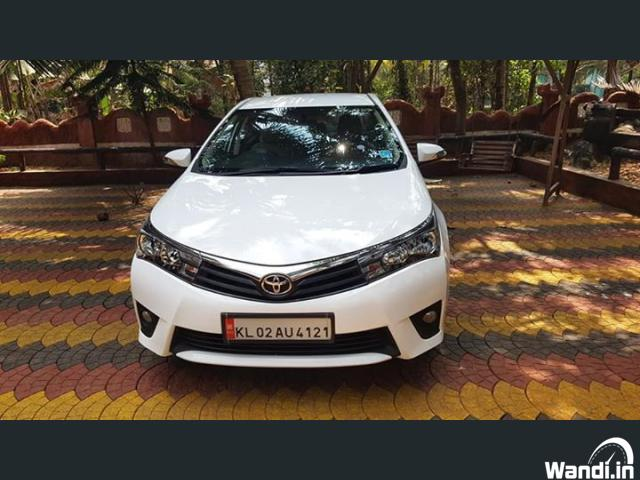 2015 corolla Altis Showroom Condition.