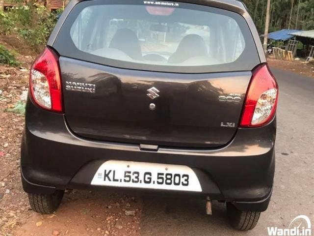 Used alto 800 in Karuvarakundu