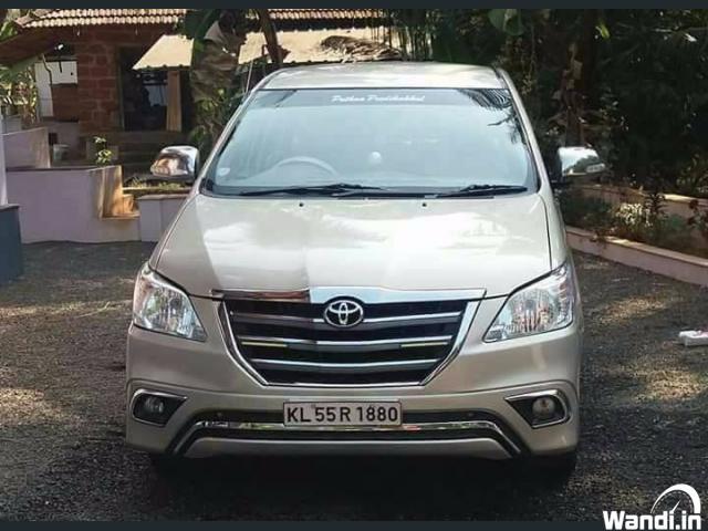 Innova 2008 model g4 type4 're registered 2014 Kerala registered