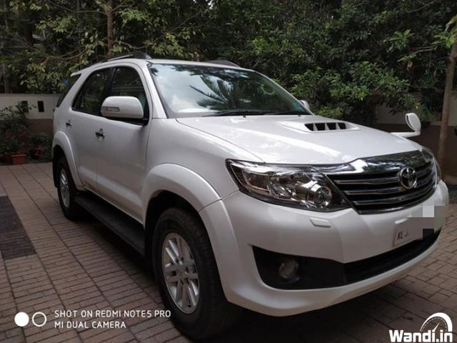 PRE owned fortuner in Ernad