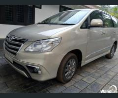 PRE owned Innova in Ernad