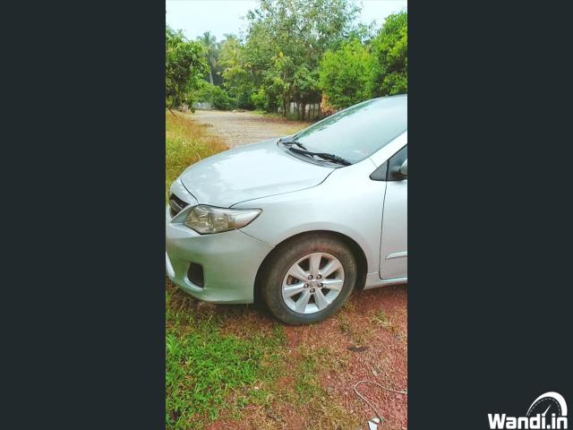 PRE owned corolla in Ponnani
