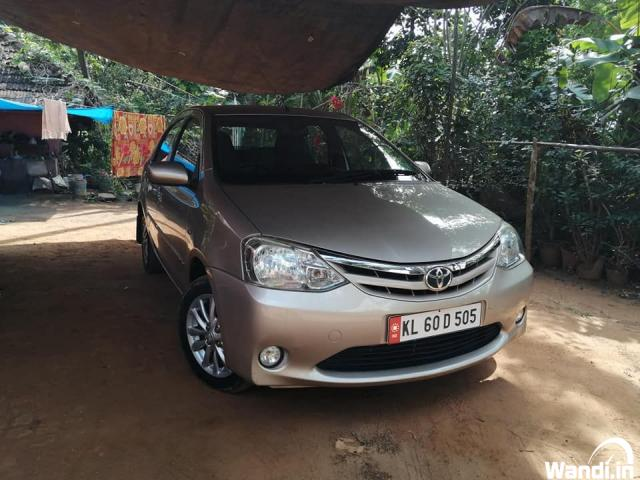 PRE owned etios in Mananthavady