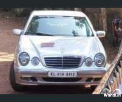 2001 Benz E220 diesel Trivandrum
