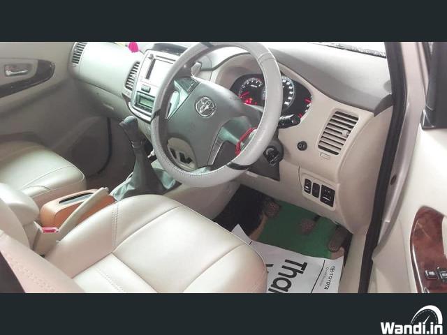 OLX USED CAR Toyota innova V Full option  Chirayinkeezh
