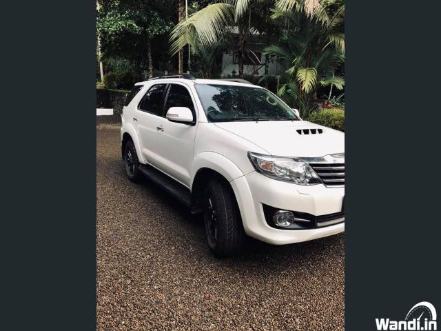 2015 Model Fortuner Kottayam