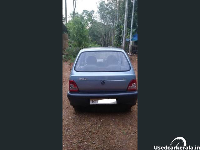 2006 maruti 800 showroom condition