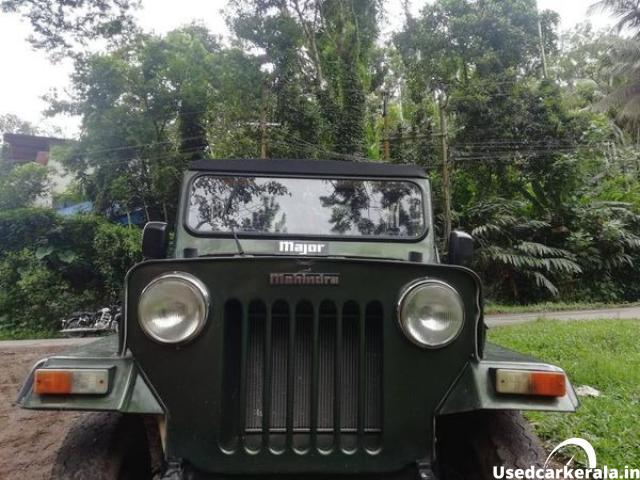 2002 Mahindra cl 500 mdi jeep