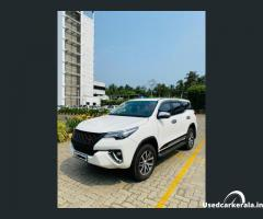 2018 4x4 FORTUNER  in Calicut used car