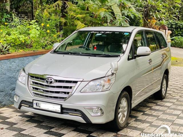 2014 model Innova zx for sale in Kottayam