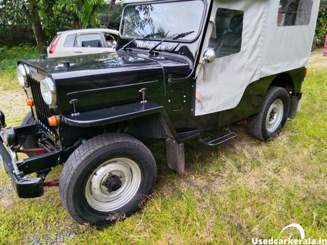1986 model Mahindra Jeep