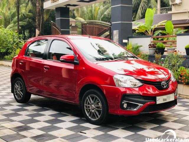 Etios Liva 2016 top end option, 17000km only