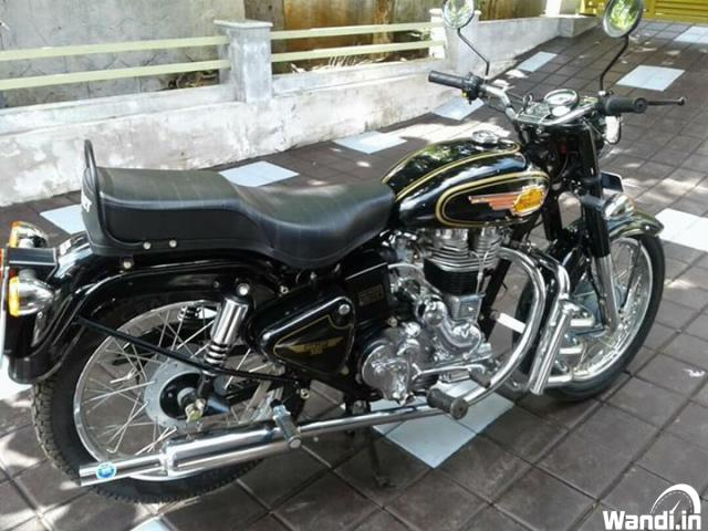 2008 model Ex-Army Royal Enfield Bullet for sale