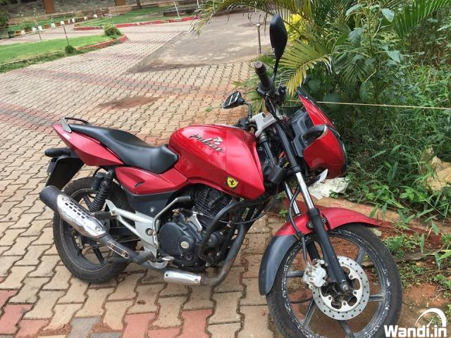 Pulsar 150 Red colour  2011 Used Bike Kerala