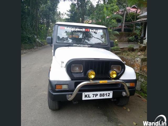 Mahindra jeep 1996 new peaper test done piravam