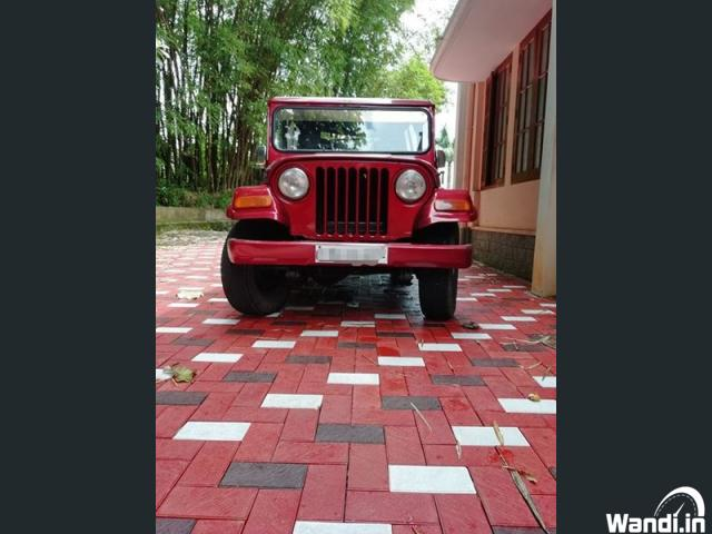 1995 Mahindra Jeep 4×4 wheel for sale in Kottayam Pala