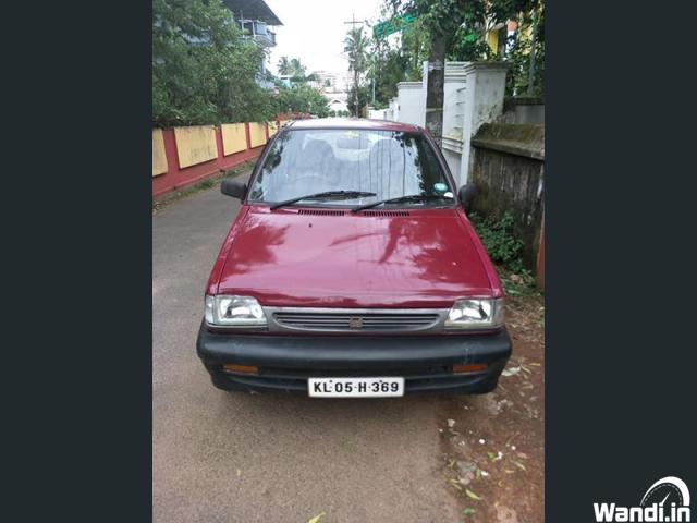 Maruthi 800 1999 model Thrissur