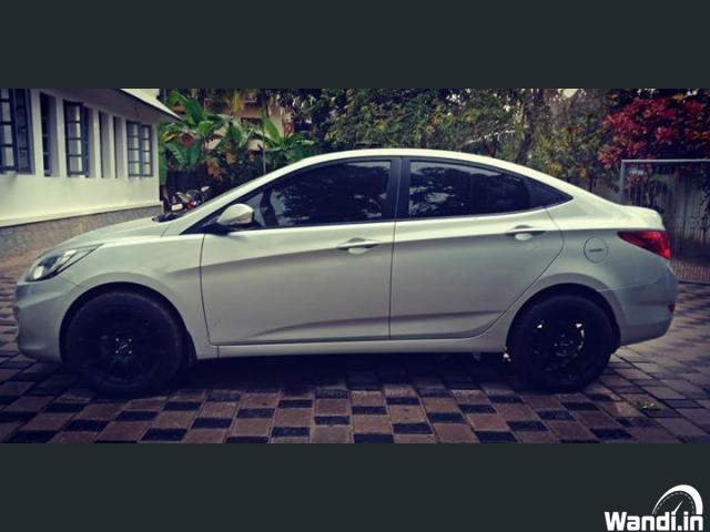 2014 Hyundai Verna SX Diesel with 1. 5 lakhs Extra fittings