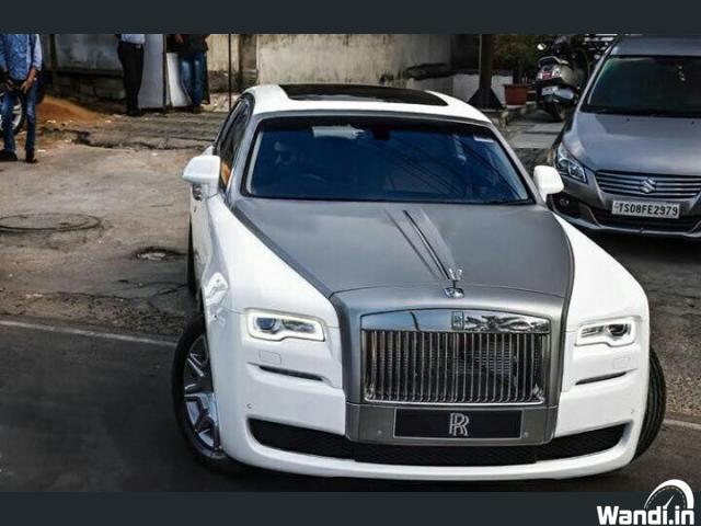 Rolls Royce car for rental Kannur