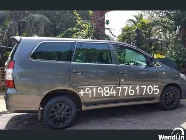 2012 model Kerala life tax 8 seat Innova G4
